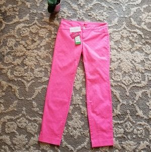 Lilly Pulitzer Kelly Skinny Ankle Textured Pant 4
